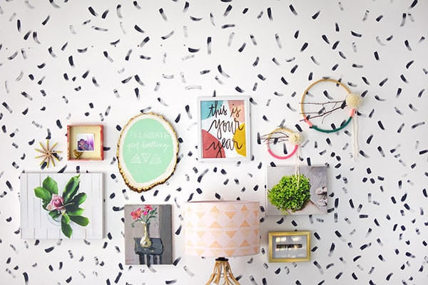 How to create a creative Office Gallery Wall in just a few steps. Delineate Your Dwelling