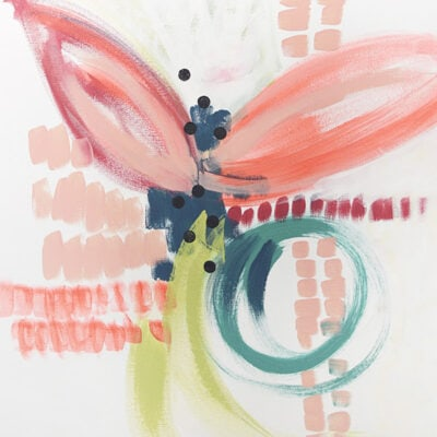 1 How to create an Abstract Floral painting