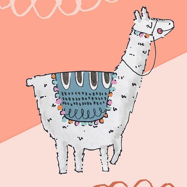 1-Llama Print