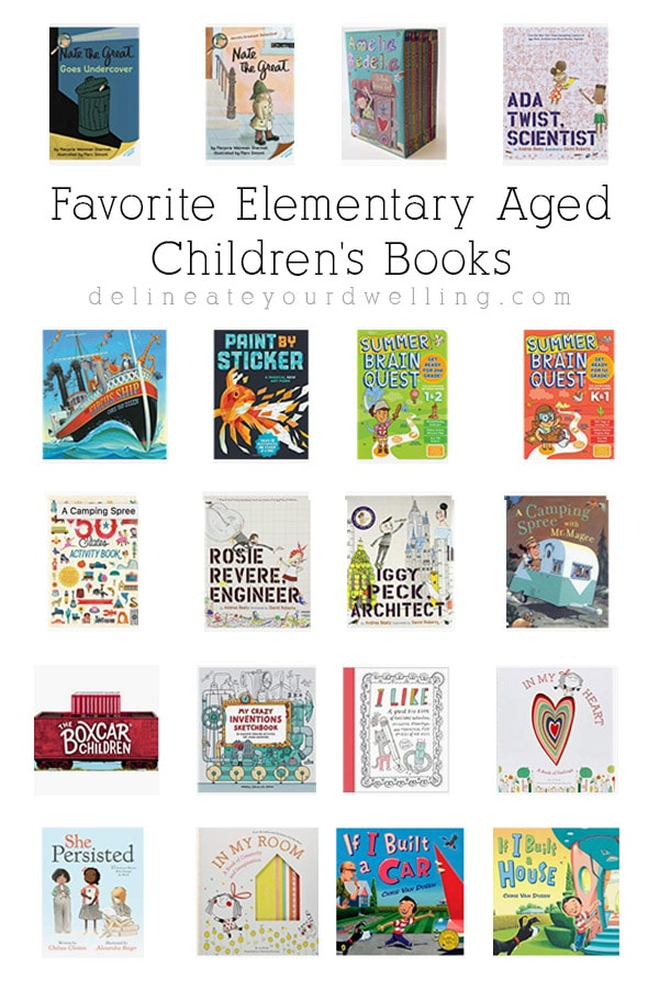 Elementary Aged Children's Books
