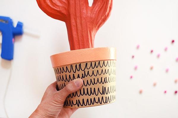 Pom Pom Cactus step4