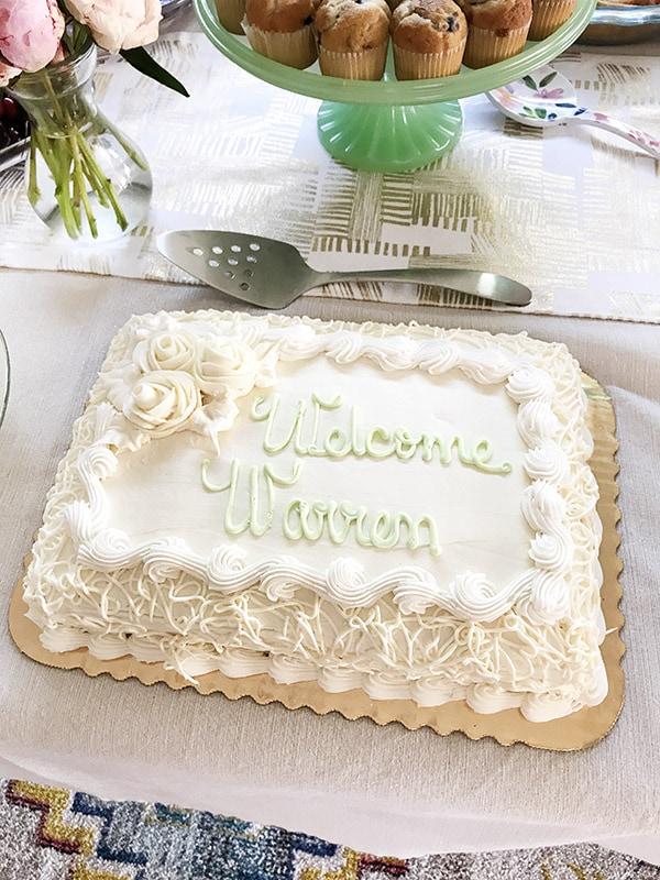 Simple elegant cake