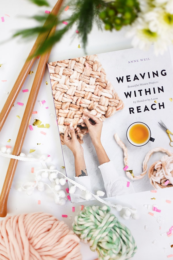 Weaving Within Reach : What I'm reading. A gorgeous and creative book full of simple weaving projects! Delineate Your Dwelling