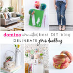1-Domino Nominated Best DIY Blog