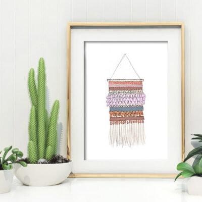 1-Wall Weaving Printable