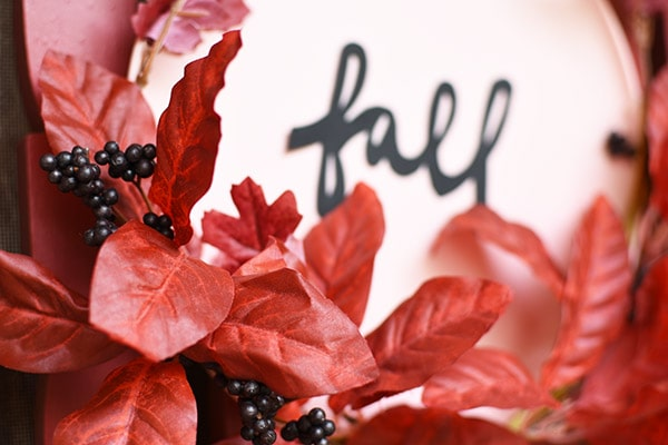 Create a fun Fall Plate Wreath for your front door! Delineate Your Dwelling