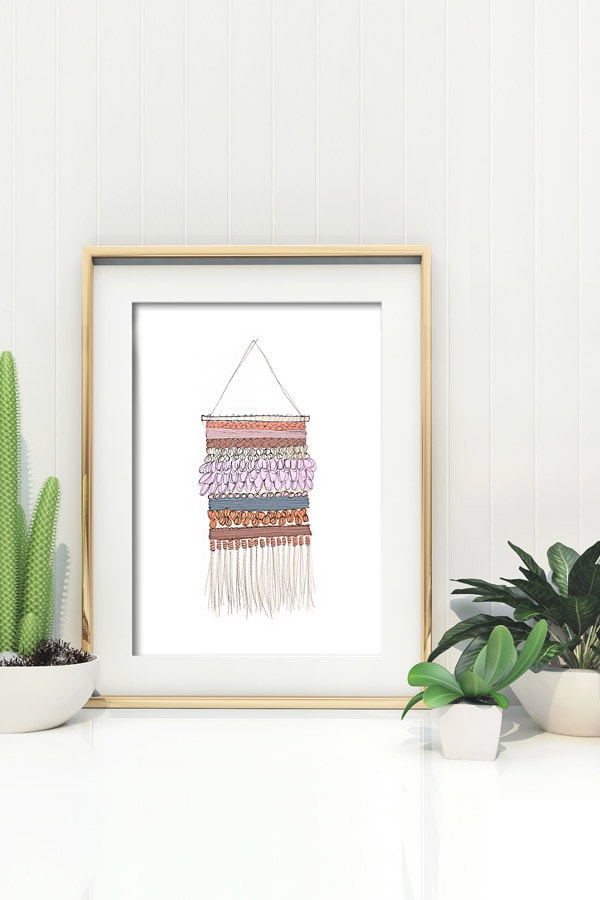 Wall Weaving printable