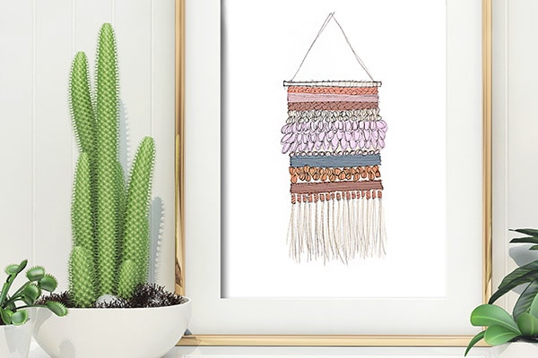 Weaving printable