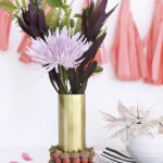 How to make an affordable Fall Acorn Centerpiece! Delineate Your Dwelling