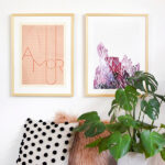 How to Mix and Match artwork in your home! Delineate Your Dwelling #hangingart