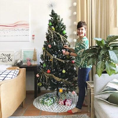 1Modern Colorful Christmas tree