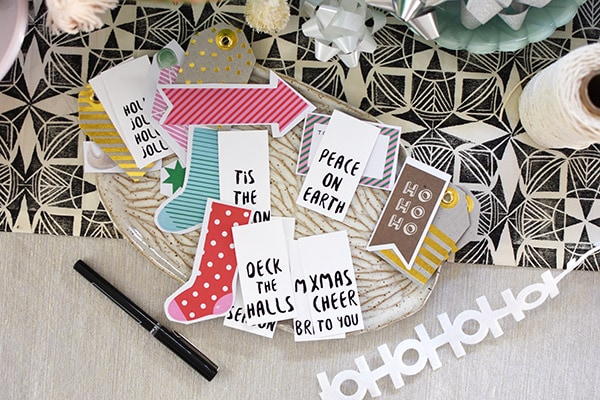 Christmas Deck the Halls Gift Tags