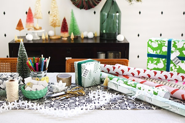 Wrapping Party for Holidays