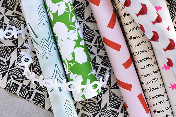 Wrapping paper for the Holidays