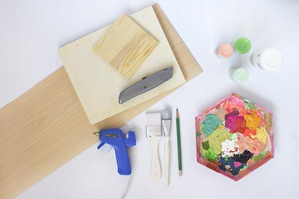 Wooden Cutout Frame supplies