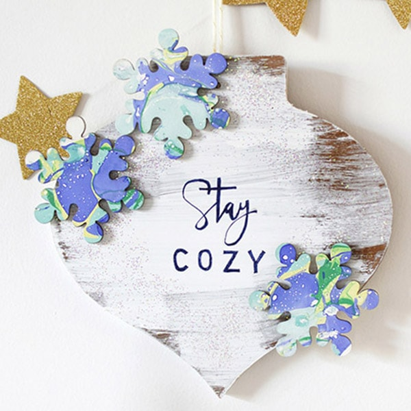Stay Cozy Winter Wall Decor