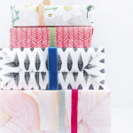 1-Uses for leftover Christmas gift wrap