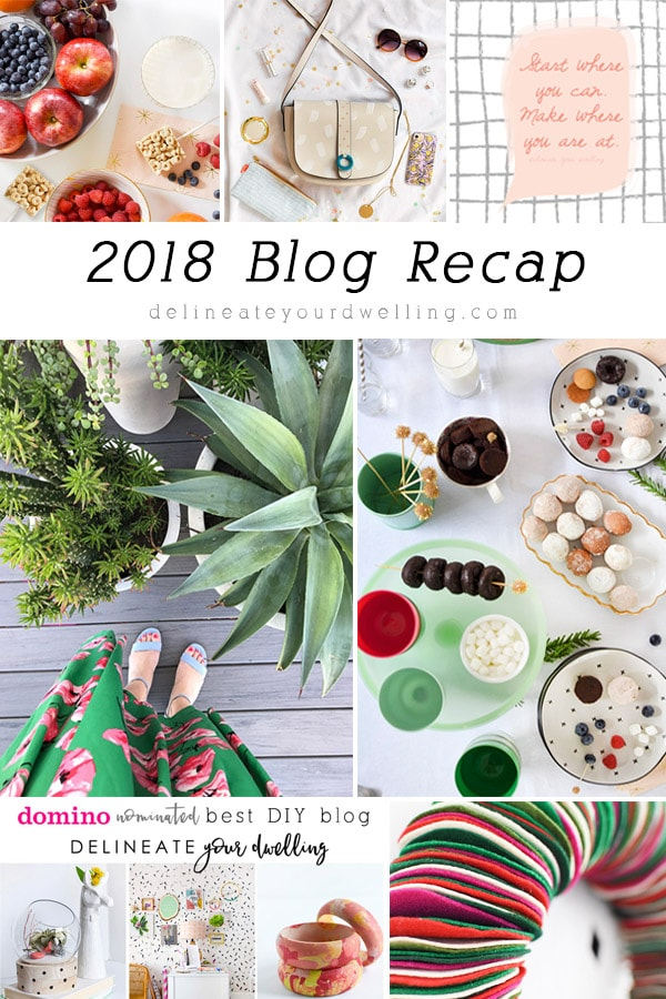2018 Blog Recap