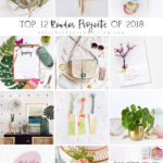 Top Reader Home Decor, Interior Spaces, Inspirational Quotes, Creative Crafts and Plant tips of 2018! Delineate Your Dwelling