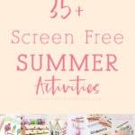35+ Summer Screen Free Activities, Delineate Your Dwelling #screenfreesummer #summeractivites