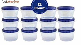 Stackable Reusable Plastic Storage Container