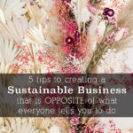 5 tips for Sustainable Business-4