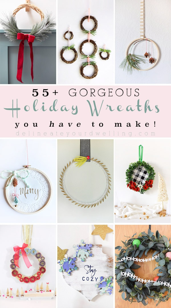 55+ Festive Holiday Wreaths