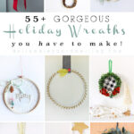 55+ Gorgeous Holiday Wreaths