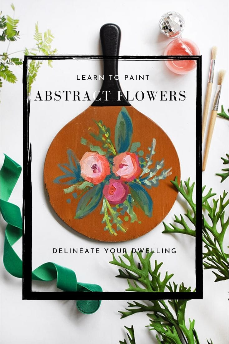 Painted Abstract Flowers