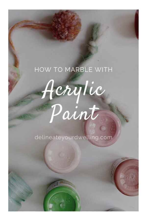 Acrylic Paint Marbling