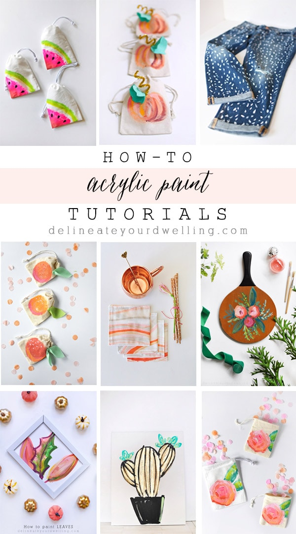 Acrylic Paint Tutorials