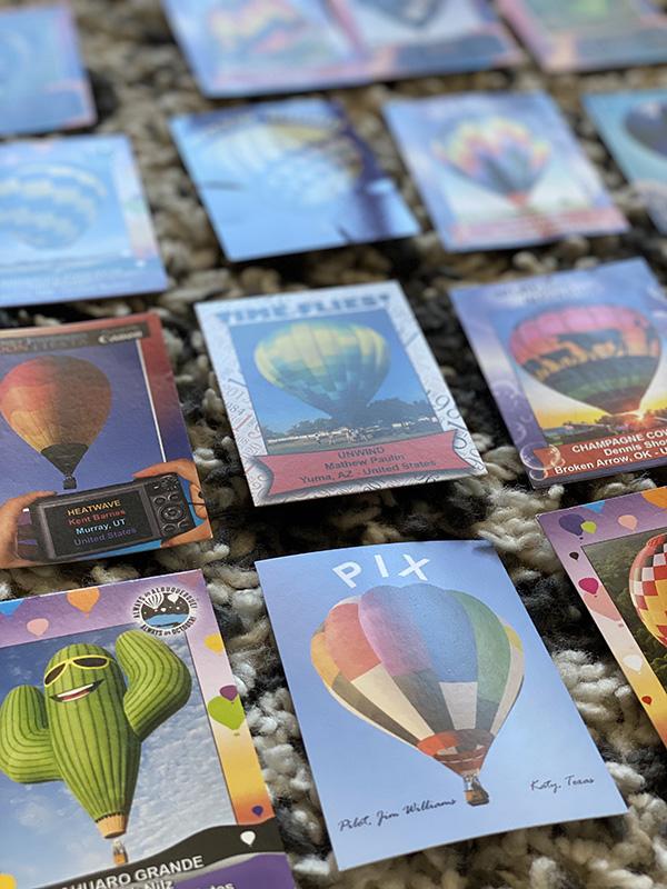 Balloon Collectible Cards