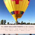 Hot Air Balloon Activities