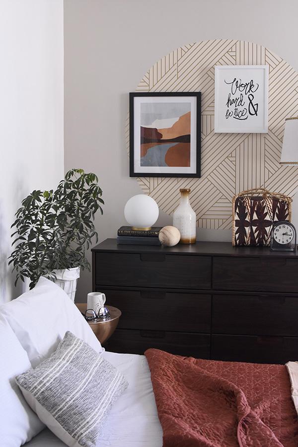 Mid Century Modern Guest Bedroom