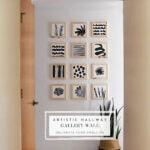 Artistic Hallway Gallery Wall