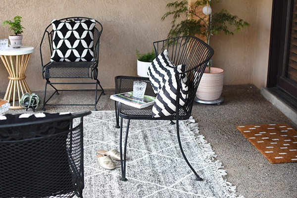 Easy Back Patio refresh