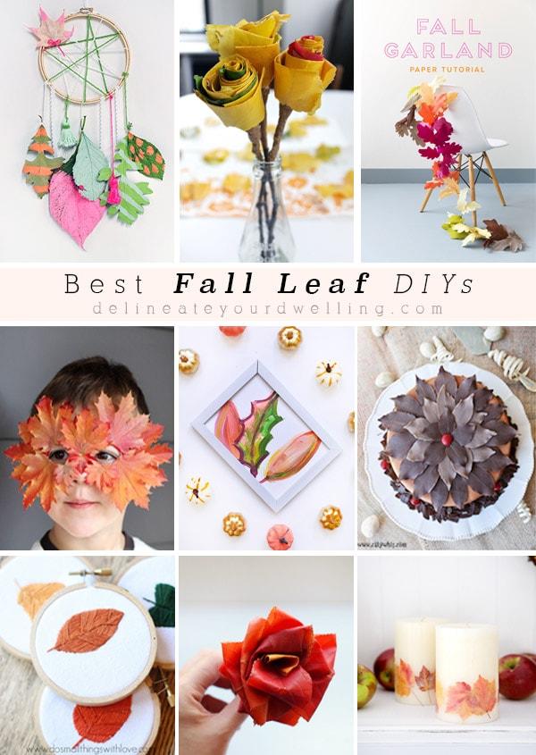 Best Fall Leaf DIYs
