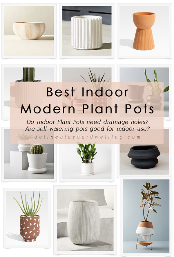 Best Indoor Modern Planters and Pots