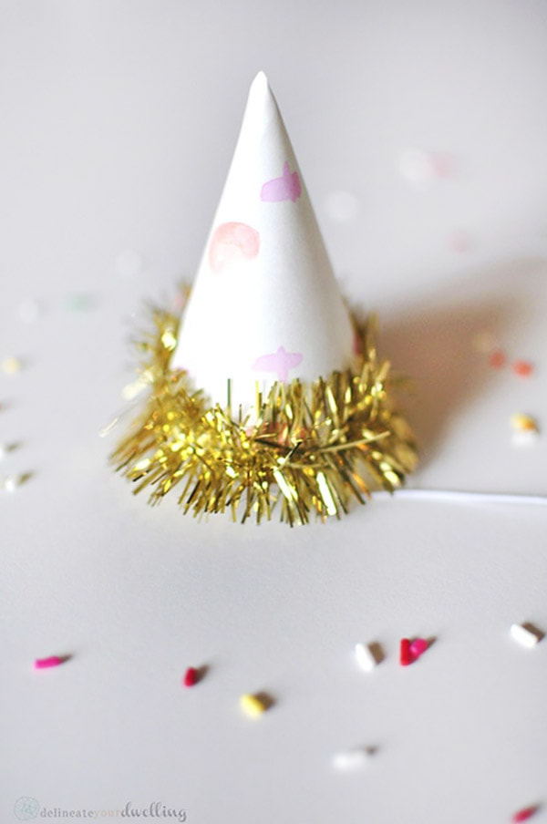Mini Sprinkle Party Hat