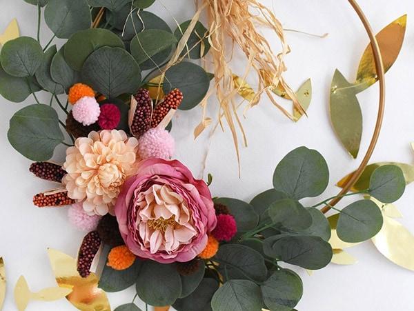 Boho Thanksgiving Wreath