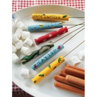 Easy to make bonfire roasting sticks for camping - 365 Days of Crafts.