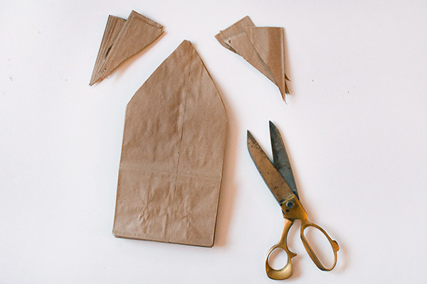 Paper Bag Star scissor cuts