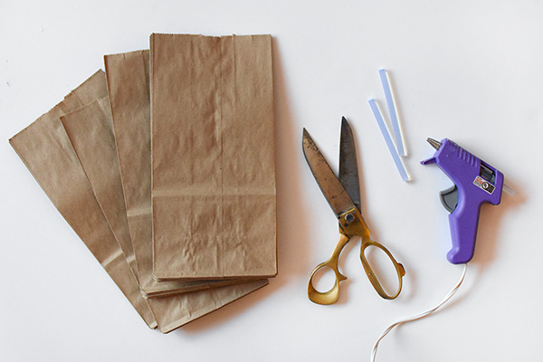 Paper Bag Star supplies