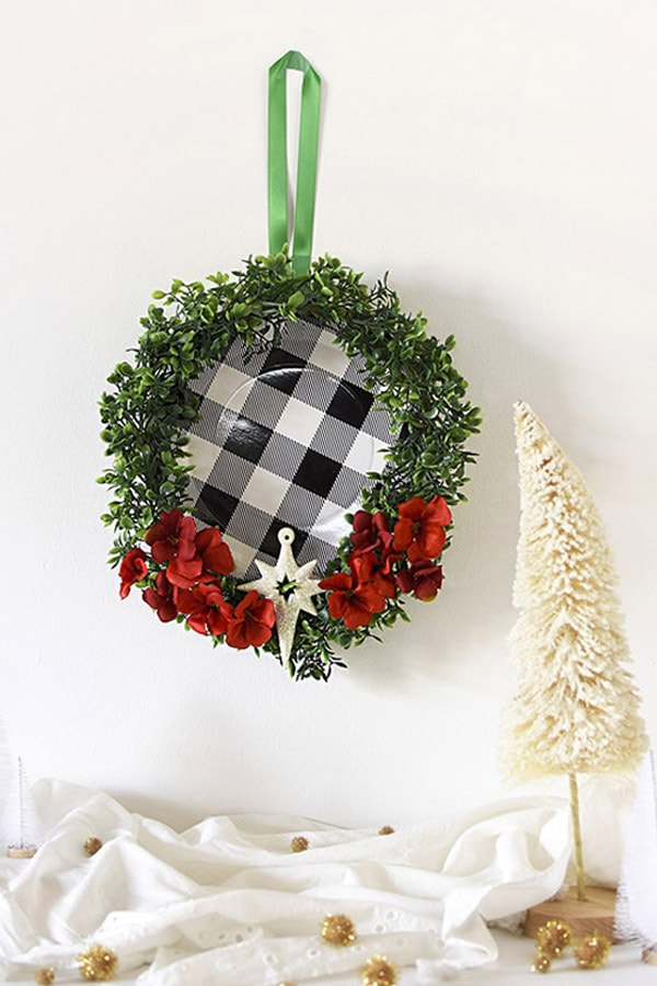 Buffalo Check holiday wreaths