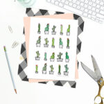 Free Cactus Print