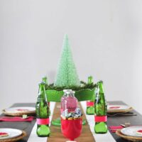 Christmas Cookie Party Table