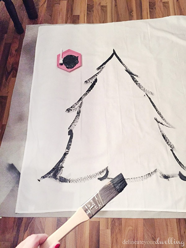 Christmas Tree Wall Hanging painting