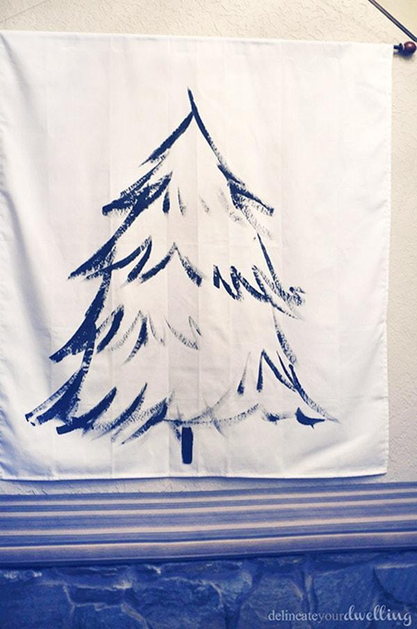 Christmas Tree Wall Hanging wall