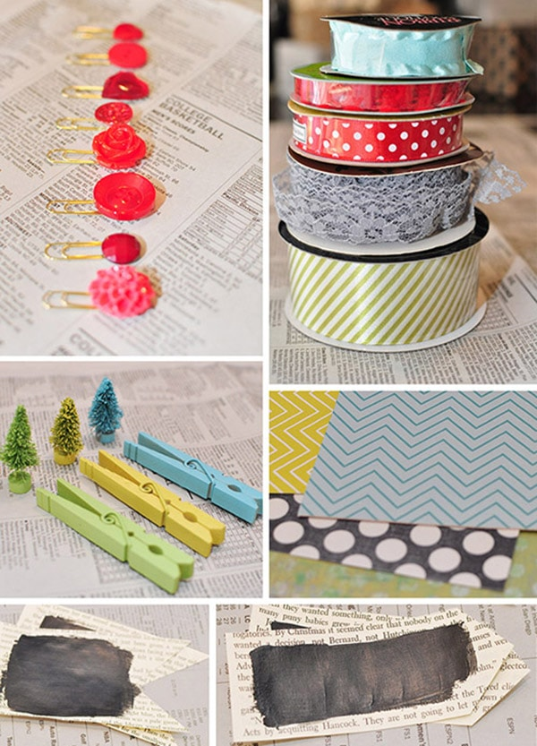 Christmas Wrapping - Embellishments