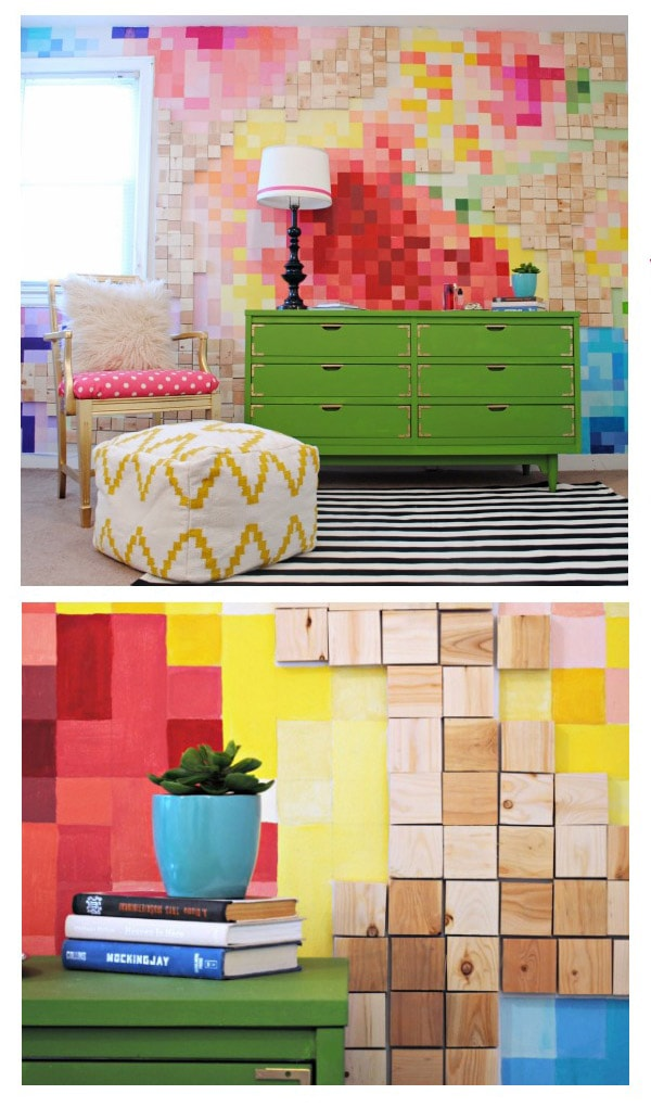 Classyclutter-Painterly-Pixelated-Wall-Tutorial